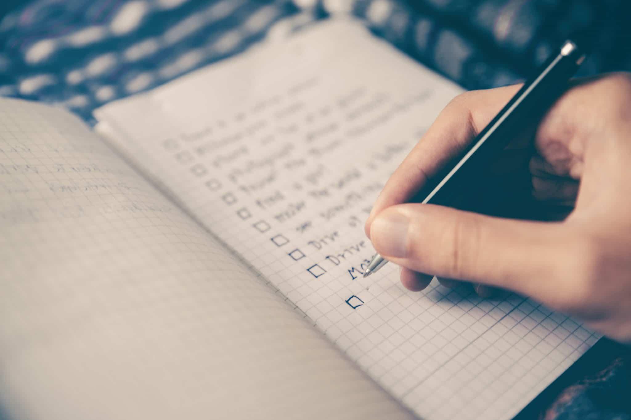 Checklist du rédacteur web