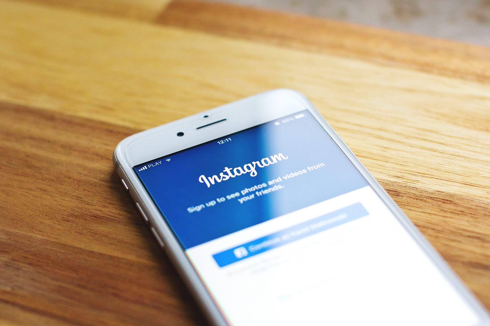 Utiliser Instagram en Rédaction Web