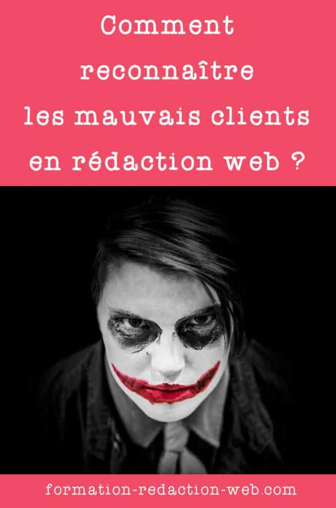 Les mauvais clients en rédaction web