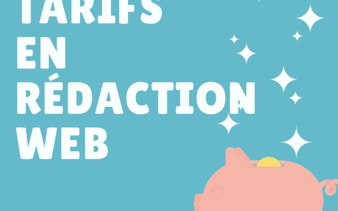 tarif rédaction web