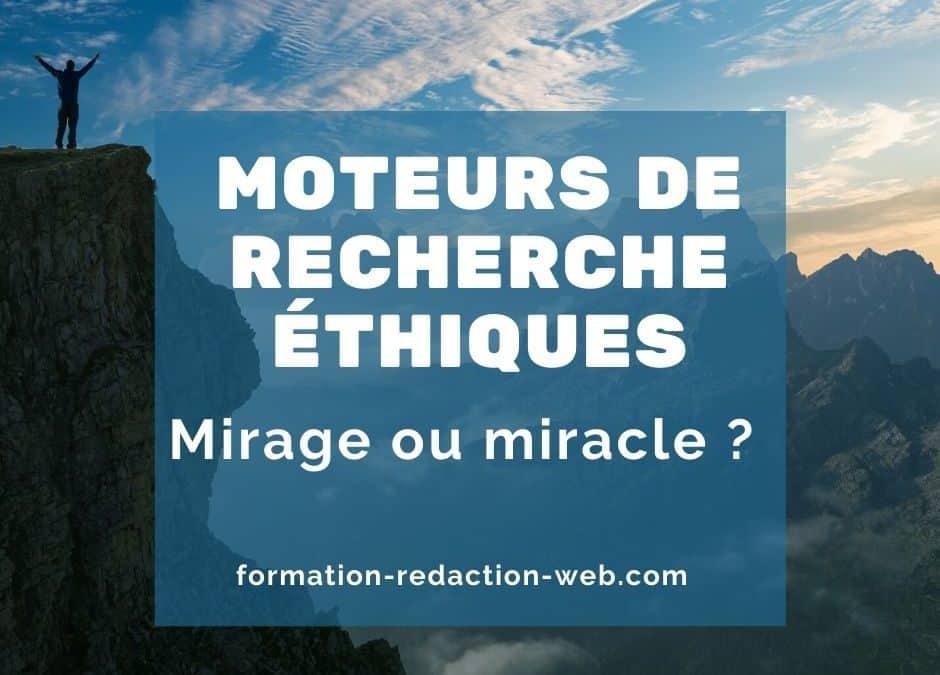 Moteurs de Recherche Éthiques : mirage ou miracle ?