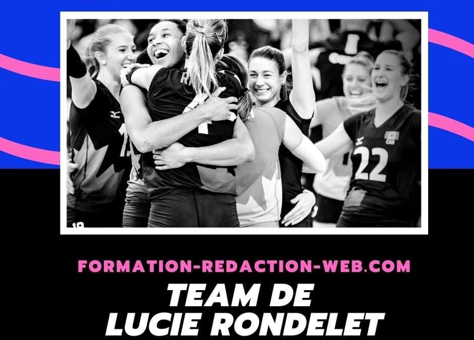 Équipe de Lucie Rondelet – L'instant transparence indispensable