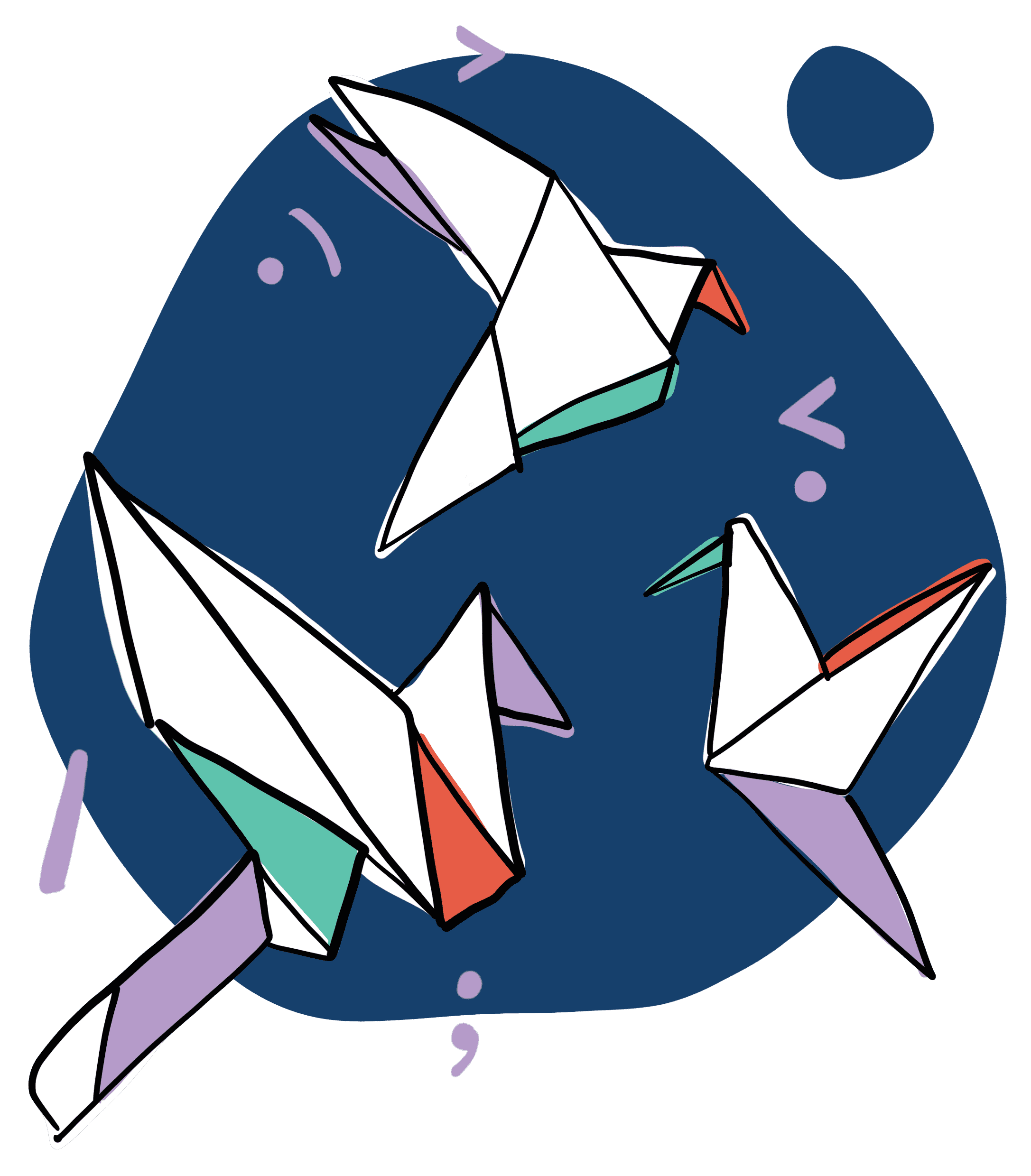 Formation origami