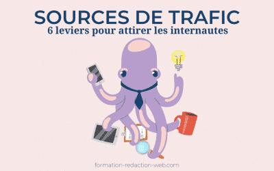 Sources de trafic | 6 leviers pour attirer les internautes