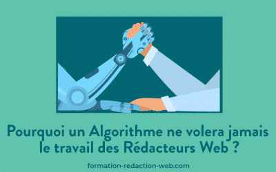 Pourquoi un Algorithme ne volera jamais le travail des Rédacteurs Web ?