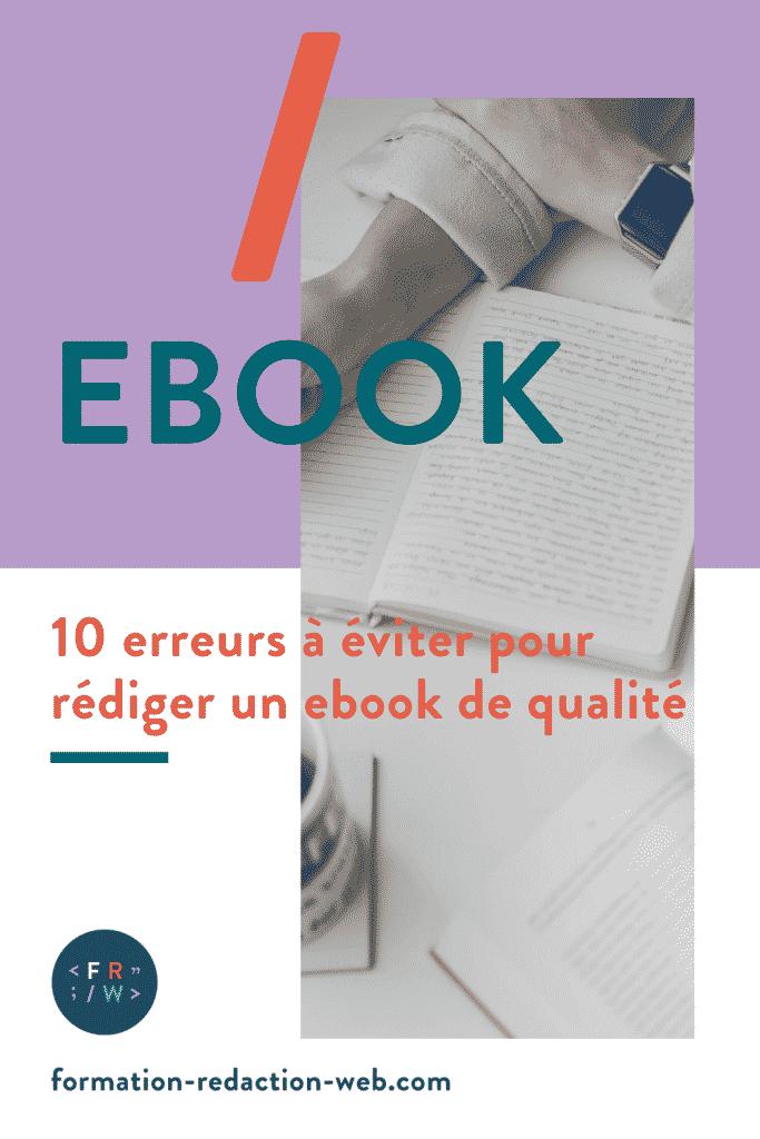 ecrire un ebook