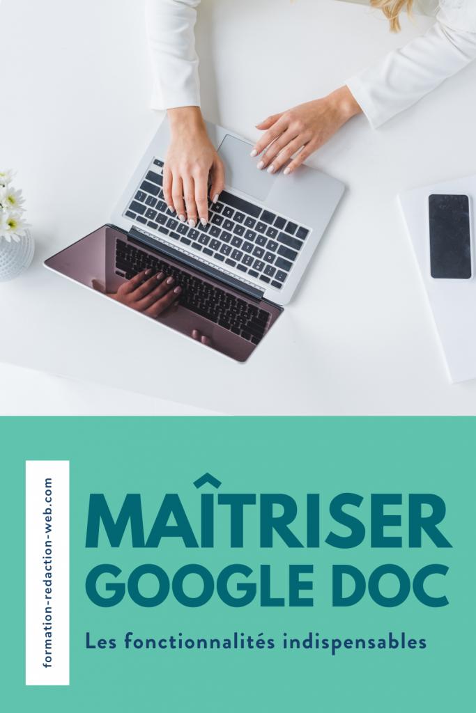 maitriser google doc
