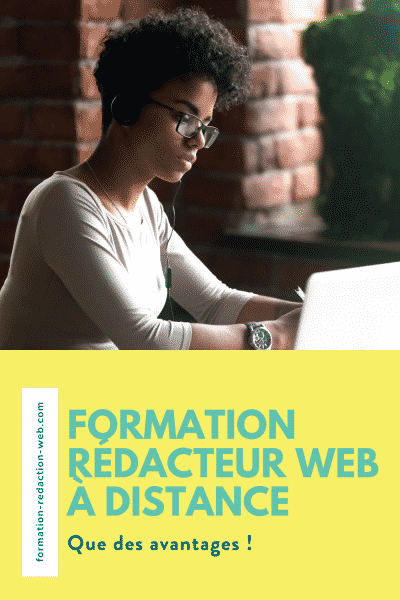 formation redacteur web a distance