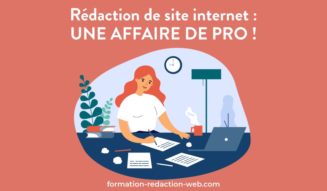 redaction site internet