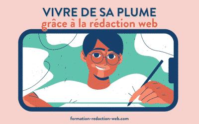 Vivre de sa plume : c'est possible grâce à la rédaction web!